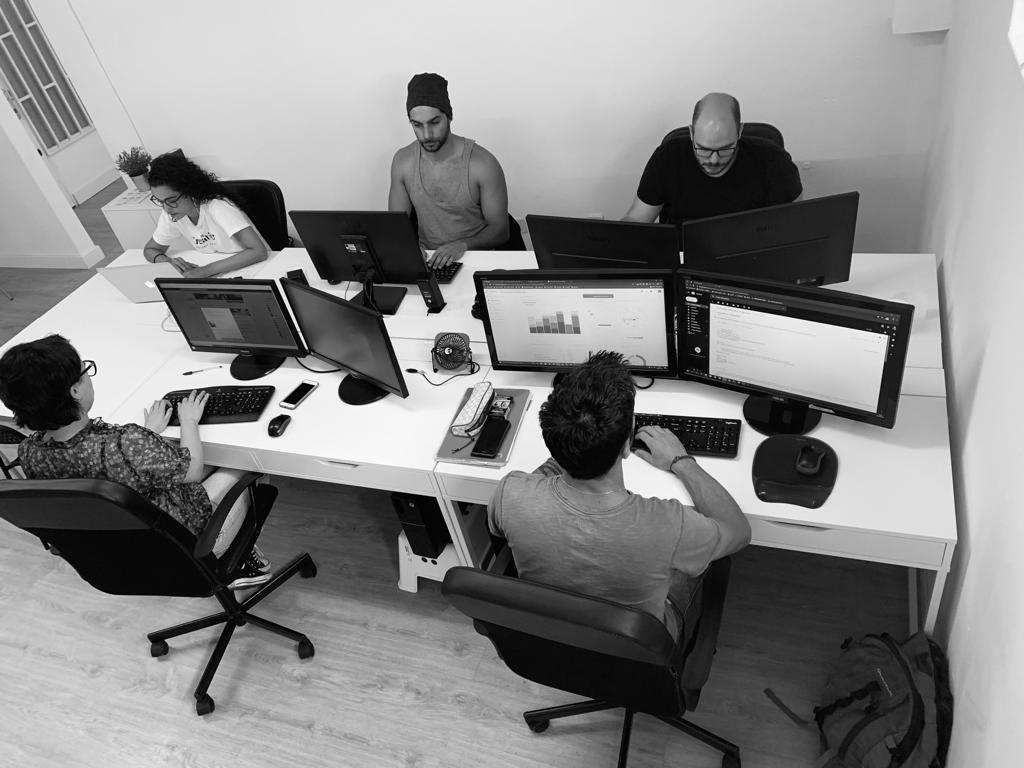 trabajando en el mundo digital