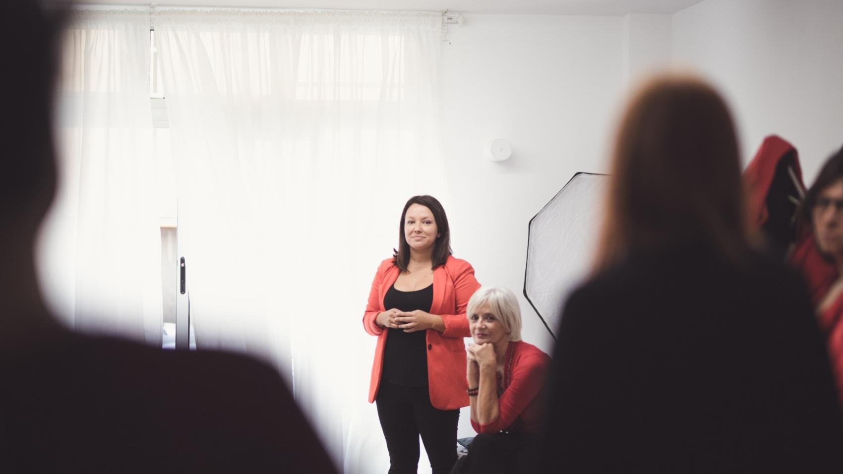 la mujer emprendedora de AQIA marketing